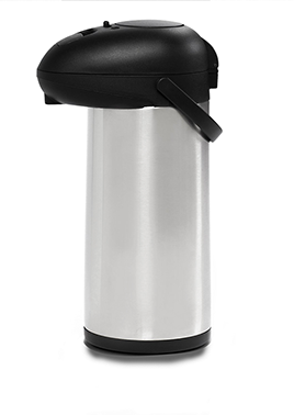 A 5 litre hot water dispenser for pouring tea and coffee