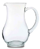 Cascade water jug glass availible to hire for catering events at Stamford Tableware Hire